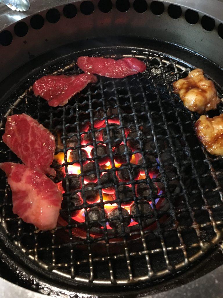 上野大昌園焼肉ランチ