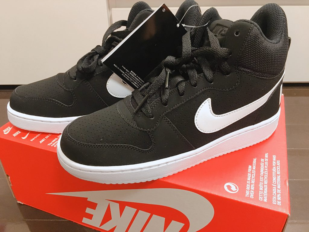 Nike ウィメンズコートバーロウミッドブラック