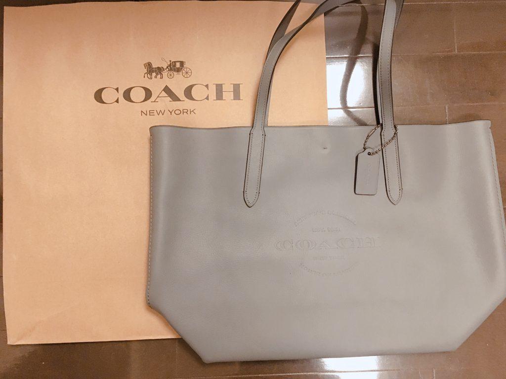 COACHグレートートバッグ