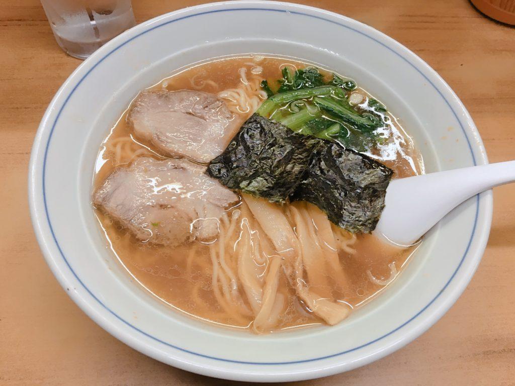 まるいちラーメン650円