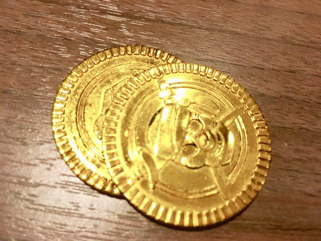 リラッサの海賊の金貨