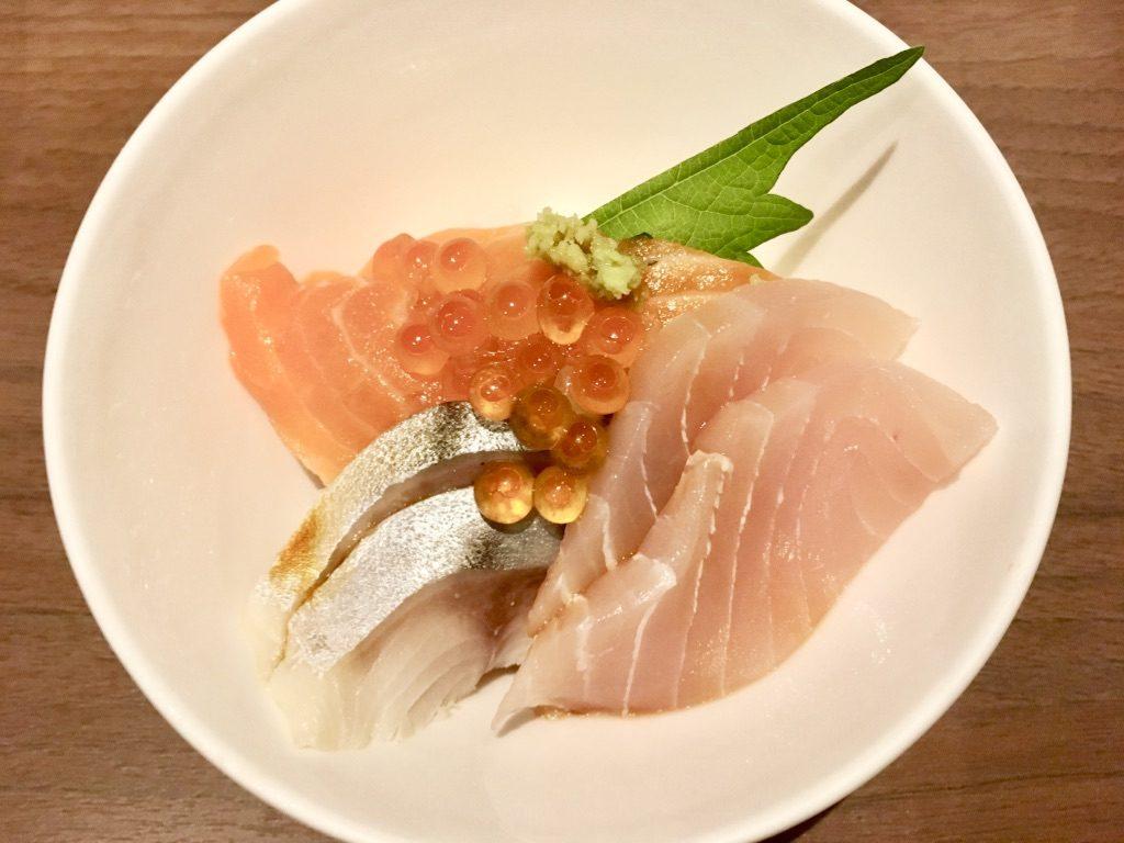 えび抜き海鮮丼