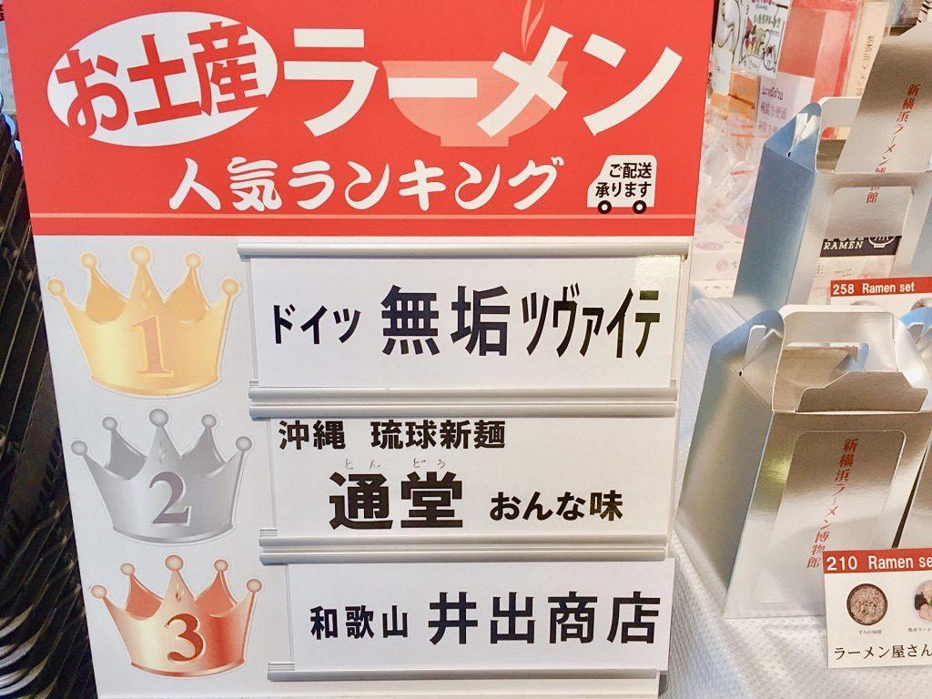 新横浜ラーメン博物館お土産ラーメン人気ランキング