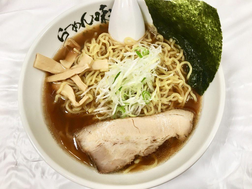 大丸松坂屋上野店 北海道物産展 利尻ラーメン味楽 焼き醤油らーめん 920円