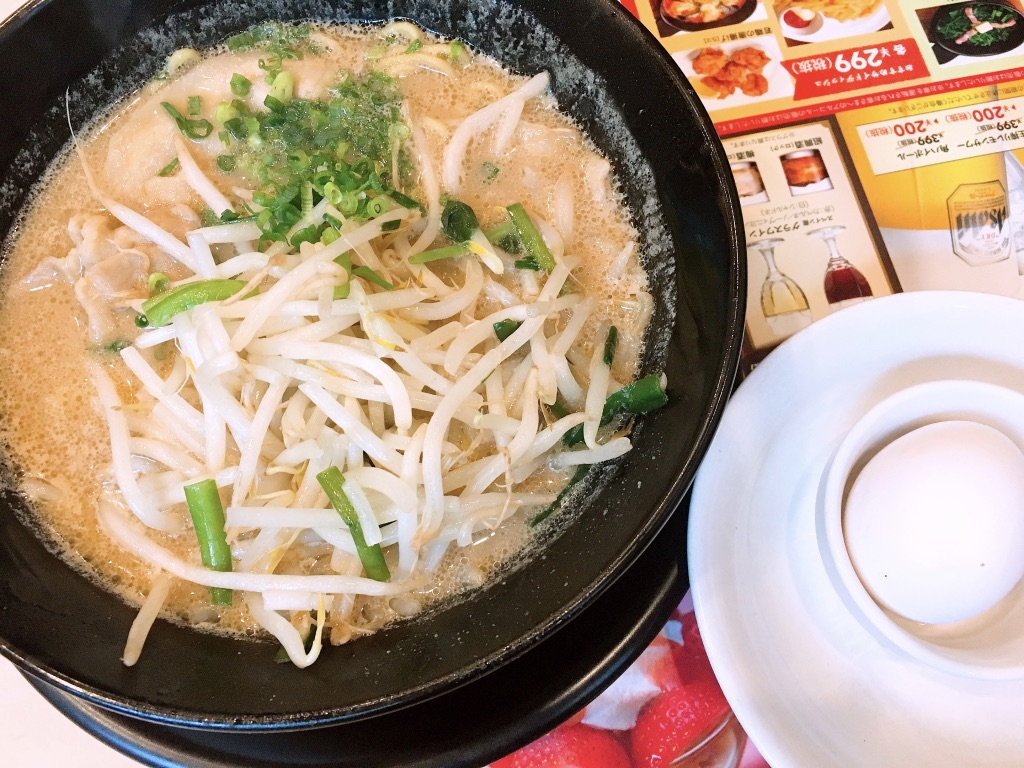 麺屋ガストの徳島ラーメン 749円