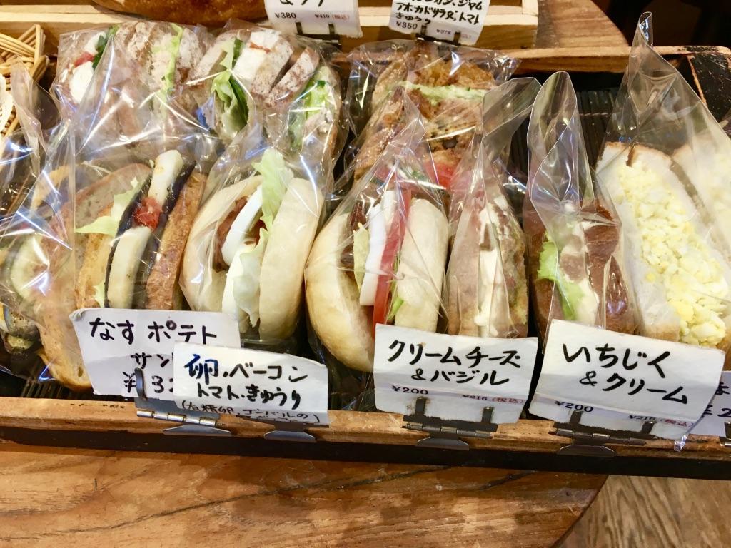 マールツァイトのサンドイッチ類