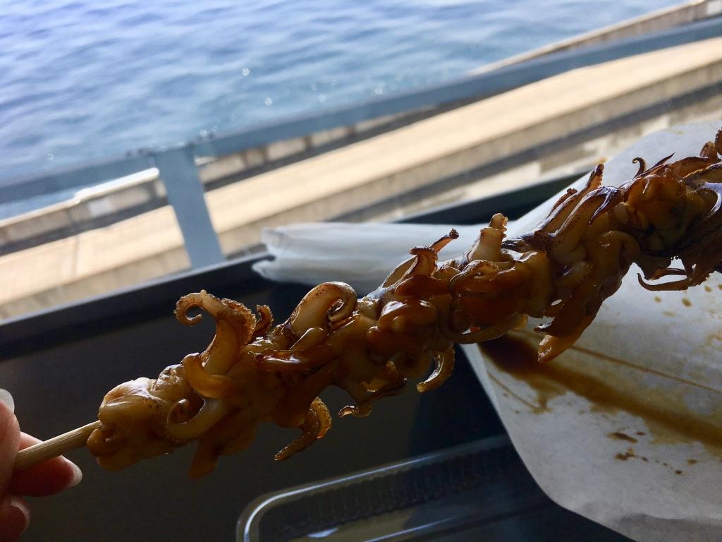 海ほたるPA やりいか串焼き 480円