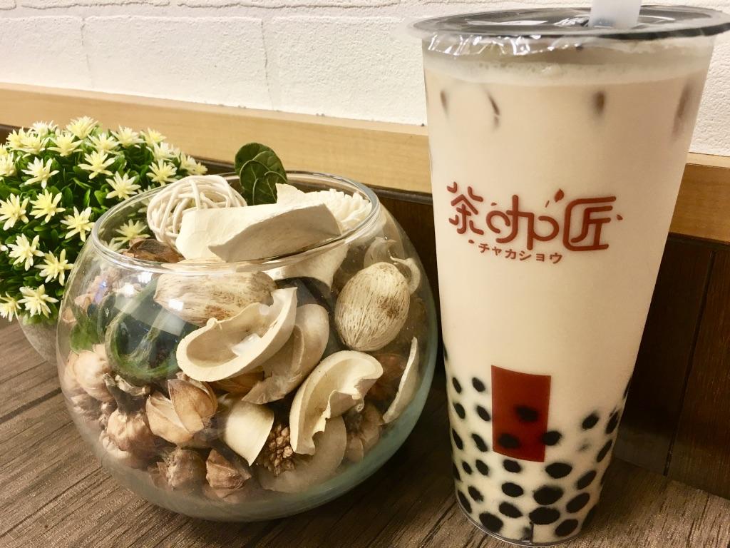 チャカショウの台湾古早味紅茶Lサイズ550円