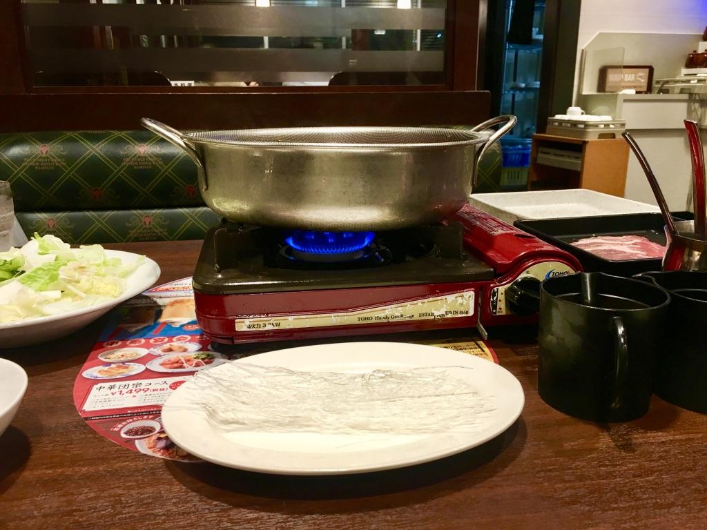 バーミヤン火鍋しゃぶしゃぶ食べ放題