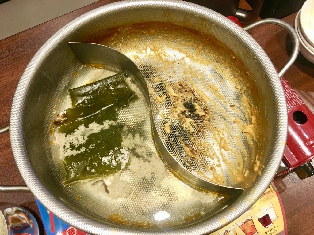 バーミヤン火鍋しゃぶしゃぶ食べ放題、ごちそうさまでした!