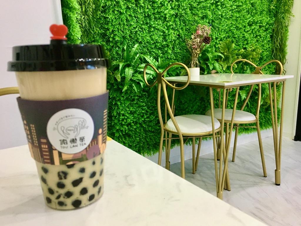 トウランティーの紅茶ベースミルクティーホット 540円